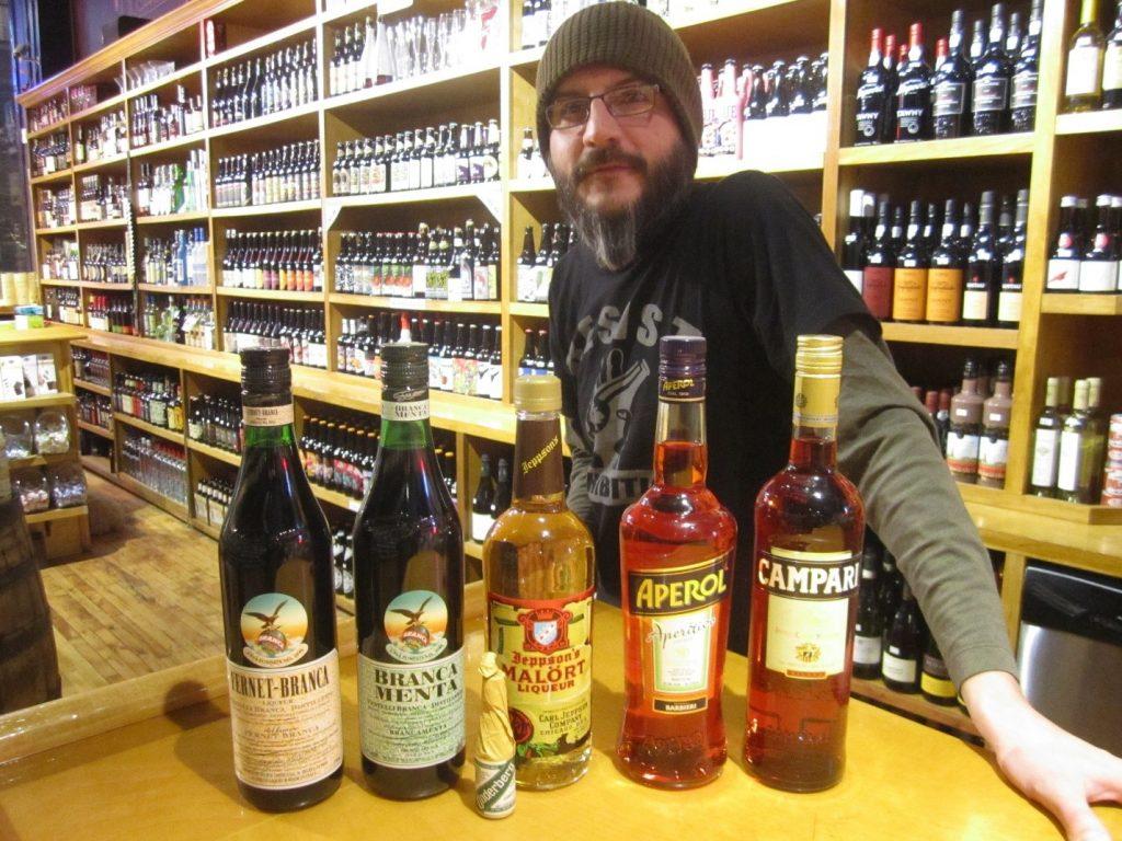 Marcus Zakrzewski of Printer's Row Wine Shop/Photo: David Hammond